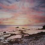Strand Meer Atlantik Sunset