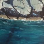Küste Felsen Meer Atlantik