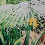Lilien Bananen Palmen