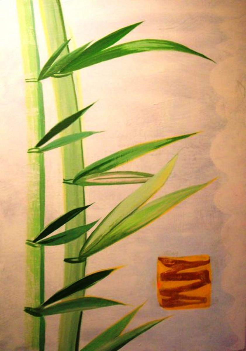 Bambus-Gold