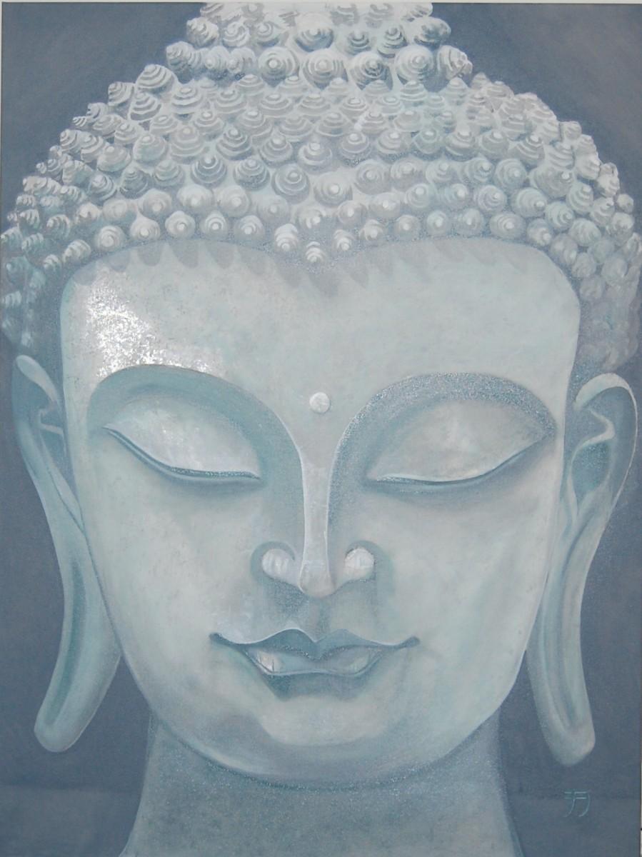 Buddha Silber