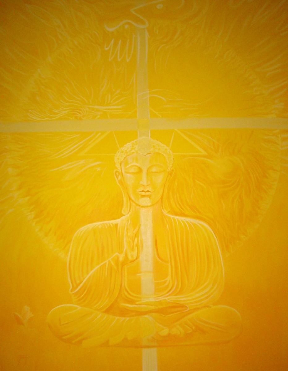Buddha Gelb