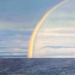 Regenbogen Meer Atlantik