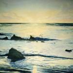 Atlantik Meer Wellen